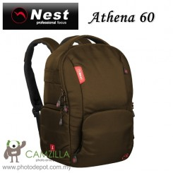 NEST NT-60 Athena Professional Waterproof Backpack - Brown